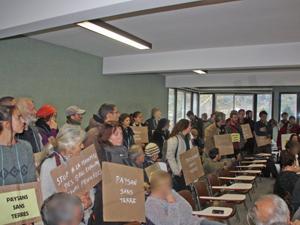 Manifestation après la décision de la SAFER G-HL