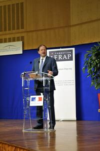 Hervé Novelli, secrétaire d'Etat chargé des PME