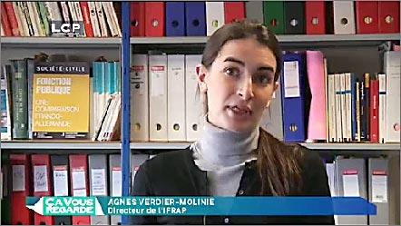 Agnès Verdier-Molinié, dans
