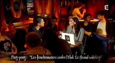 Daniel Picouly et Agnès Verdier-Molinié, dans