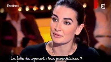 Agnès Verdier-Molinié sur le plateau de Ce soir (ou jamais !)