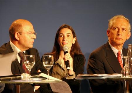 Agnès Verdier-Molinié lors de la convention de l'UMP :