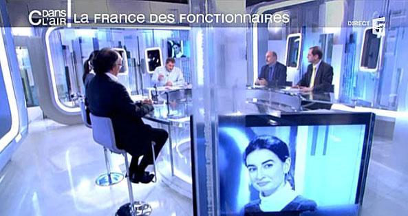 C dans l'air : La France des fonctionnaires, avec Agnès Verdier-Molinié, directeur de la Fondation iFRAP