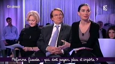 Evelyne Joslain, Pascal Salin et Agnès Verdier-Molinié