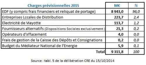 La contribution au service public de l 39 lectricit cspe dans tous ses - Contribution au service public de l electricite ...