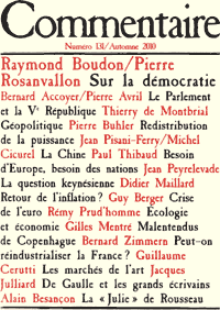 Revue Commentaire, n°131