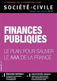 Dossier Finances publiques : le plan pour sauver le AAA de la France