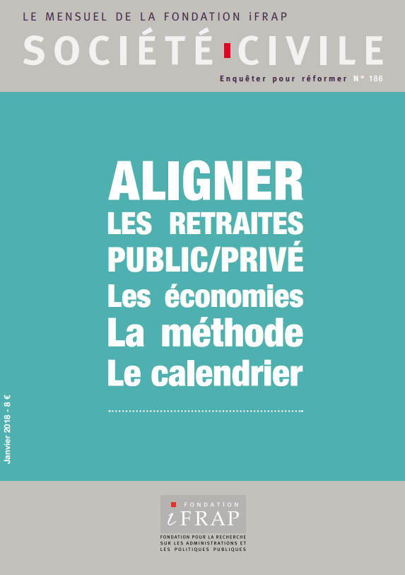 Retraite Ce Qui Change Entre Public Et Prive Fondation Ifrap