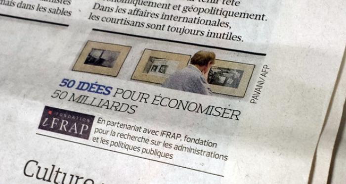 Les 5 Idees D Economies De La Semaine Fondation Ifrap Le Figaro